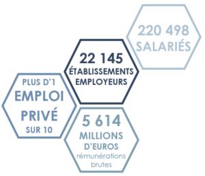 Chiffres de l'économie sociale et solidaire en Nouvelle Aquitaine en 2017
