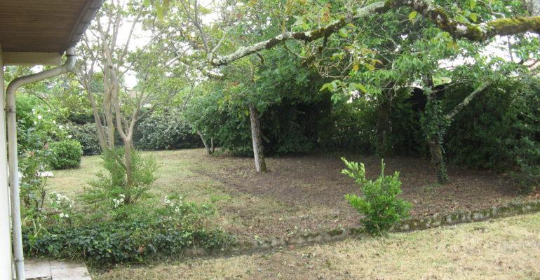 Jardin après passage de l'ASPE