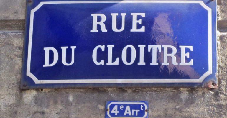 Rue du cloître à Bordeaux